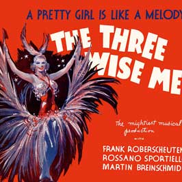 Three Wise Men - A Pretty Girl Is Like A Melodie